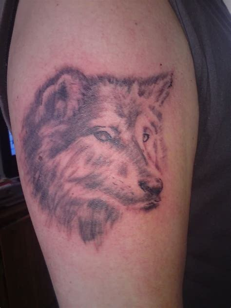wolf tattoos for men wolf for on bicep wolf design tattoomagz