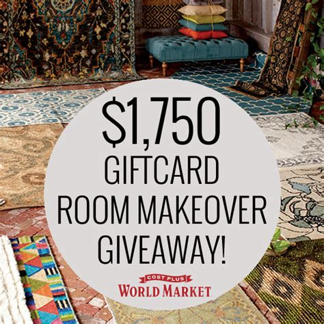Home Makeover Giveaways 2015 - craftaholics anonymous 174 1750 world market room makeover giveaway