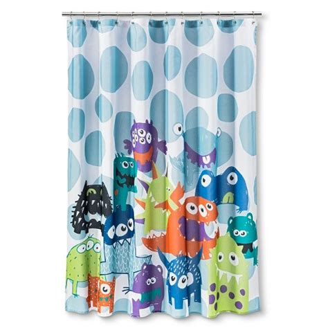 monster high shower curtain circo monsters shower curtain target