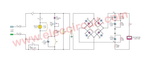 high voltage power high voltage power supply 3000v eleccircuit