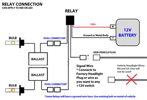 hid relay wiring diagram resistor hid free engine image