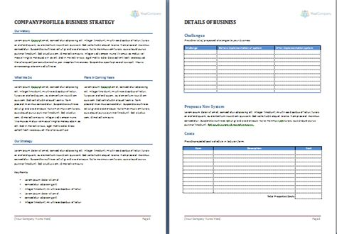 Business Proposal Template Office Templates Online Microsoft Word Rfp Template
