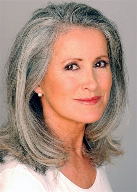 medium haircuts for gray hair silver fox hairstyles for gray hair hair
