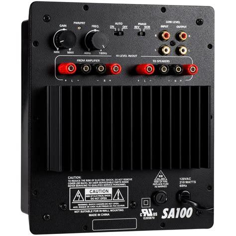 Speaker Toa 100 Watt dayton audio sa100 100w subwoofer plate lifier