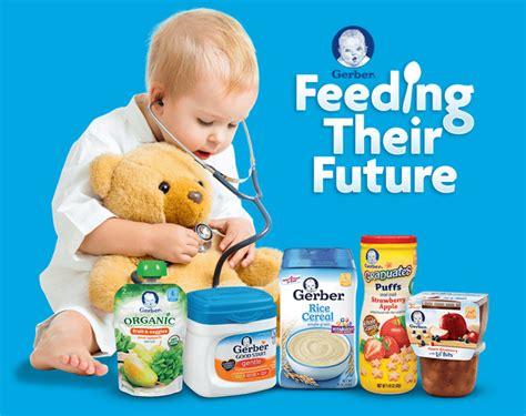 Gerber Sweepstakes - familysavings 187 gerber feeding their future sweepstakes 187 print