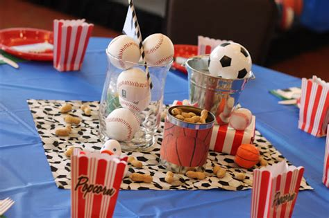 Sports Themed Baby Shower by Nataliekmudd Sports Themed Baby Shower
