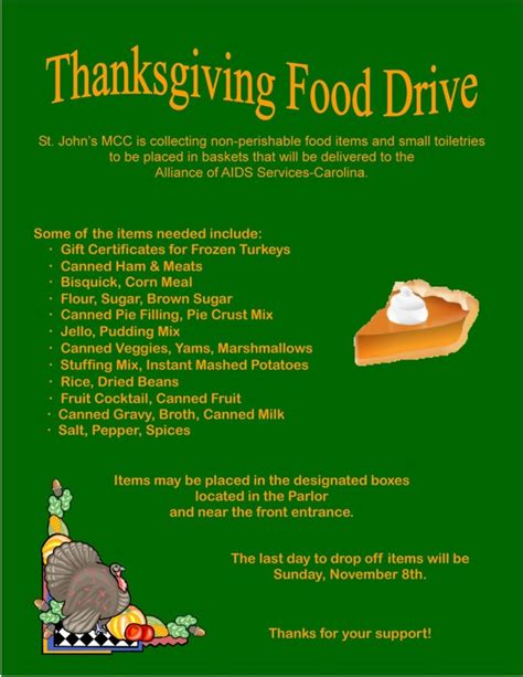 Thanksgiving Food Drive Flyer Template For Free Festival Collections Free Thanksgiving Food Drive Flyer Template