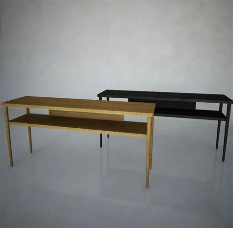 ikea stockholm console stockholm sofa table ikea 3d 3ds