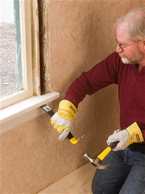 How To Remove Stool by Removing Windows How To Replace House Windows Diy Advice