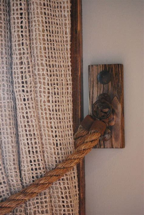 where can i buy burlap curtains 25 best curtain tie backs ideas on pinterest curtain