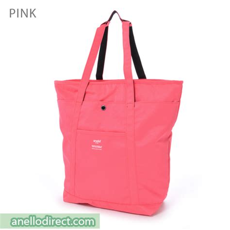 Anello Authentic Original Japan Salem Pink Leather Backpack anello polyester 2 way tote bag backpack rucksack ah b1871