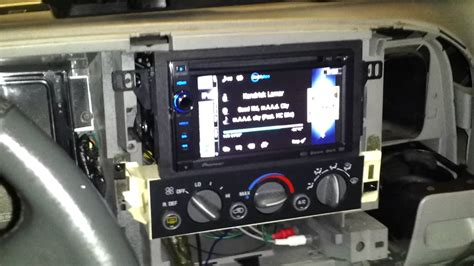 double din installation on a 99 chevy tahoe pt 2 youtube