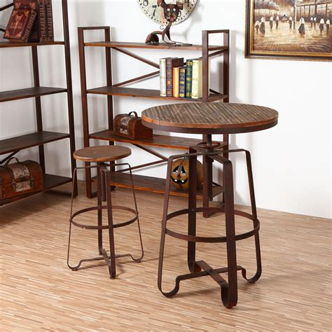 Small Bar Table And Chairs Wrought Iron Balconies Combination Coffee Table And Chairs Can Lift Small Wood Bar Table