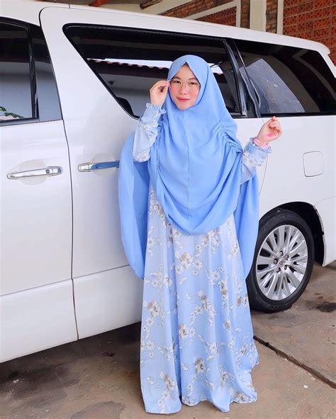 Baju Muslim Syari 18 18 contoh model busana muslim 2018 untuk wanita trendy