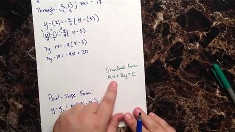 Pbsc Finder Review Series Question 4 Find The Equation