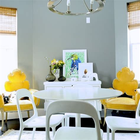 Astonishing yellow and white dining room gallery best inspiration home design eumolp us