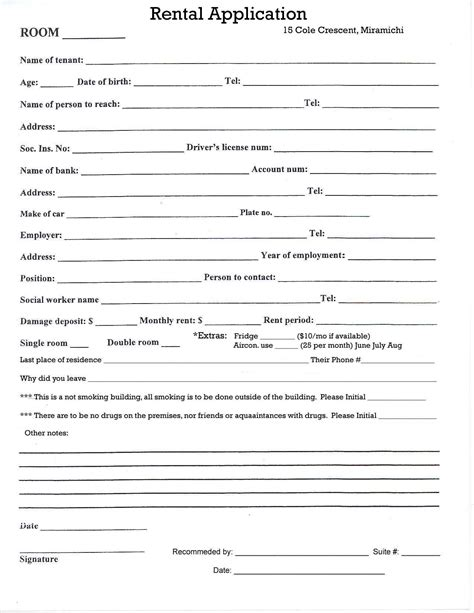 best photos of template lease forms rental lease agreement form