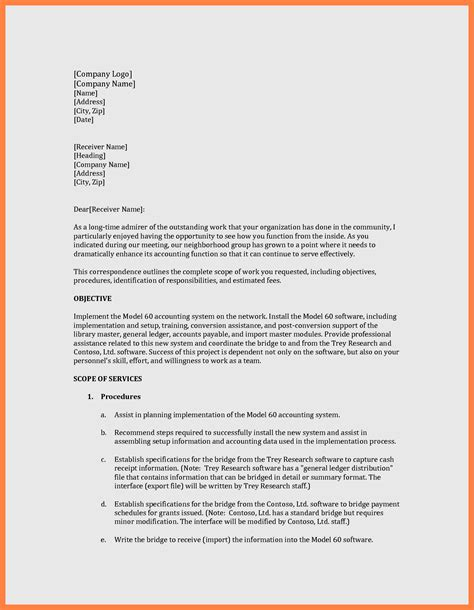 11 How To Write A Simple Business Proposal Project Proposal Simple Business Template