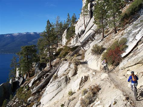 south mountain trail top 6 mountain bike trails in south lake tahoe tahoe south
