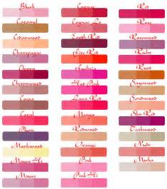 lip colors lip ink semi permanent lip colors chart