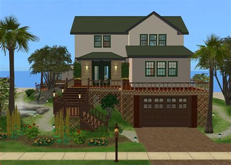 the house 2 mod the sims beach house