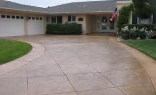Driveway Decorations - concrete driveways the concrete network