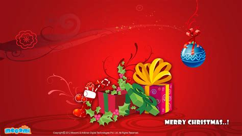 merry christmas gifts desktop wallpapers for kids mocomi