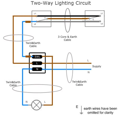 two way switch wiring diagram two way electrical switch