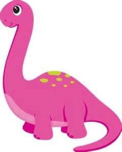 Pink dinosaur clipart clipartsgram com