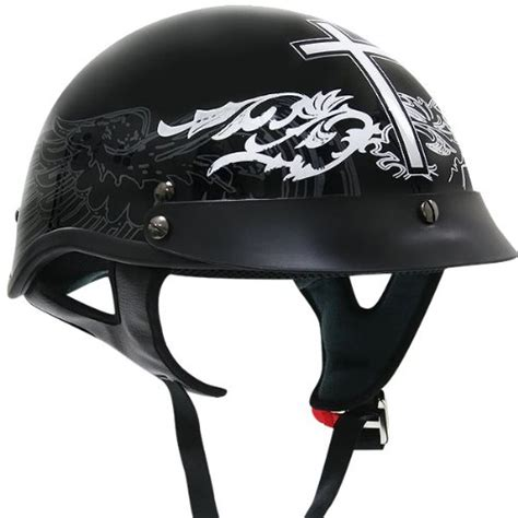 most comfortable half helmet cheap motorcycle helmets outlaw black glossy christian