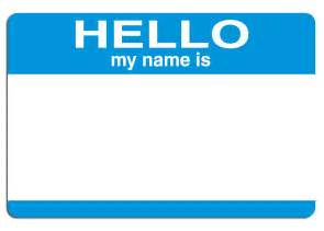 Hello My Name Is Template by Best Photos Of My Name Is Sticker Template Hello My Name