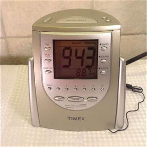 timex tb nature sounds alarm clock radio black
