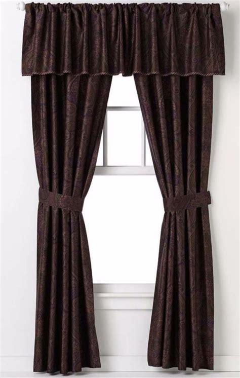 ralph lauren drapes curtains chaps ralph lauren preston paisley window curtain panels