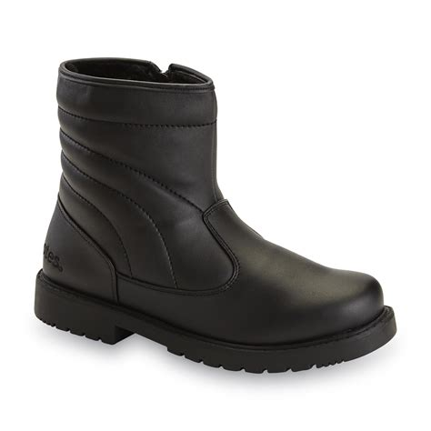 sears mens snow boots totes s commuter 8 quot snow boot black shop your way