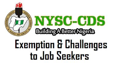 Evaluation Letter For Nysc nysc exemption letter the challenges seekers in