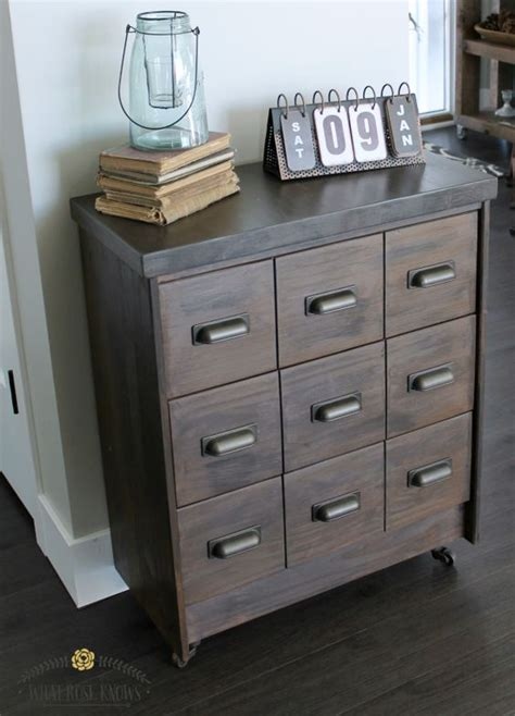 15 ikea rast chests get hacked in style diy apothecary cabinet ikea rast hack