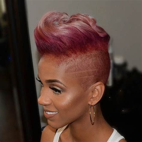 black women hairstyles short on one side and long on the other 893 best h a i r s h a v e d images on pinterest hair