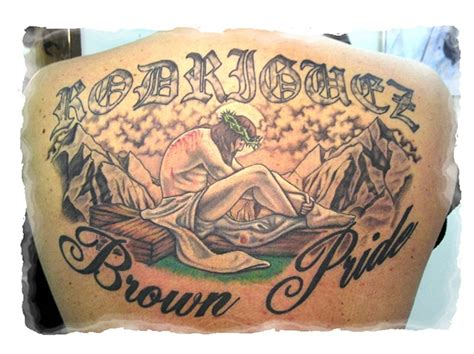 brown pride tattoos always affordable tattoos brown pride