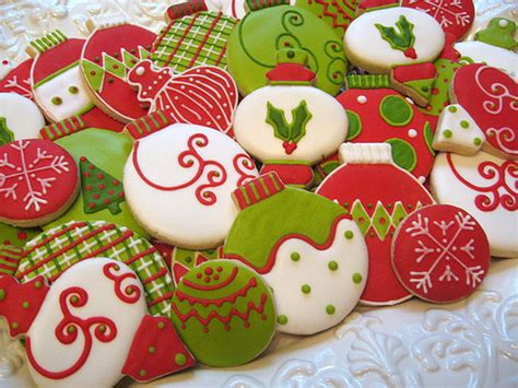 ornament cookie platter how to decorate christmas cookies