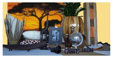afrikanische wohnaccessoires www roomoutfit de wohn styling thema