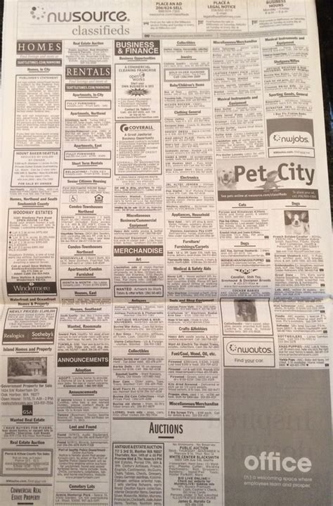 sunday times real estate section goodbye real estate classifieds
