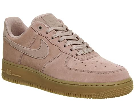 Nike Airforce One Putih Pink nike nike air one trainers particle pink gum his