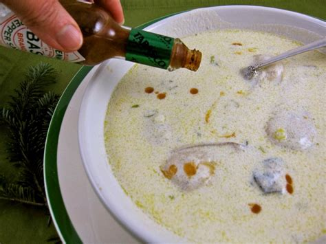 oyster stew a tradition on oyster stew peggy lman s dinnerfeed