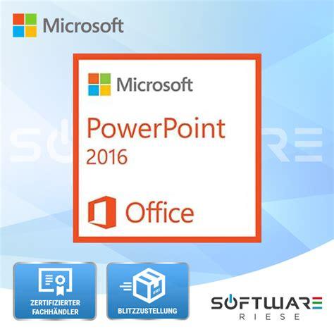 Microsoft Powerpoint 2016 office windows produkte zum bestpreis microsoft