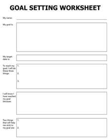 25 best ideas about goal setting worksheet on pinterest