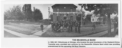 lincoln library ca beamsville band 1908 lincoln library digital