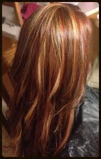 hair foil color ideas blonde red brown foils hair make up pinterest