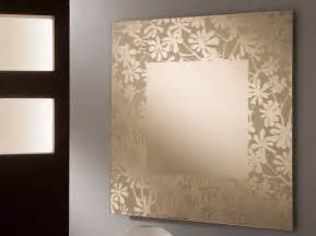 unique mirror design with flowers themes sayleng