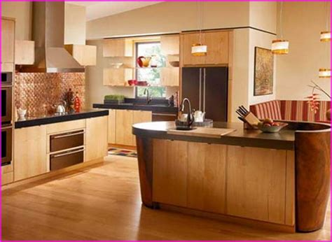 kitchen paint colors with golden oak cabinets home