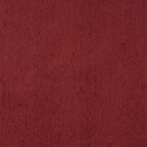 upholstery fabric durability f505 brick red solid durable chenille upholstery fabric by